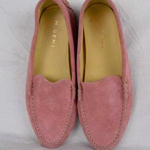 M. Gemi Pink Suede Loafer Felize